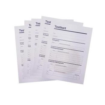 Testkort 10-pack